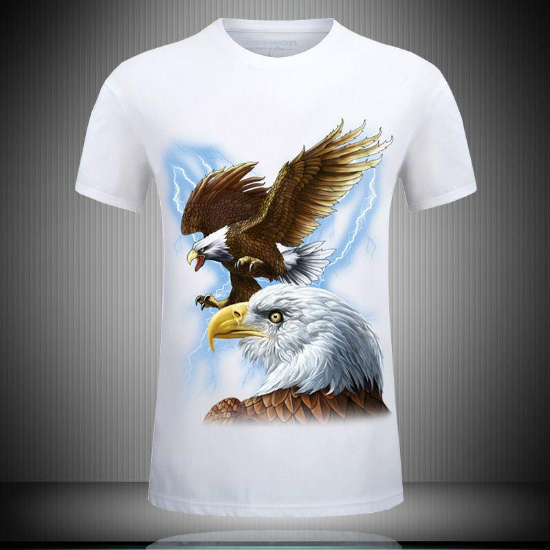 Summer funny t shirts for men animal 3d tee shirts printed plus size mens fashion brand designer clothing short sleeve hip hop t-shirts