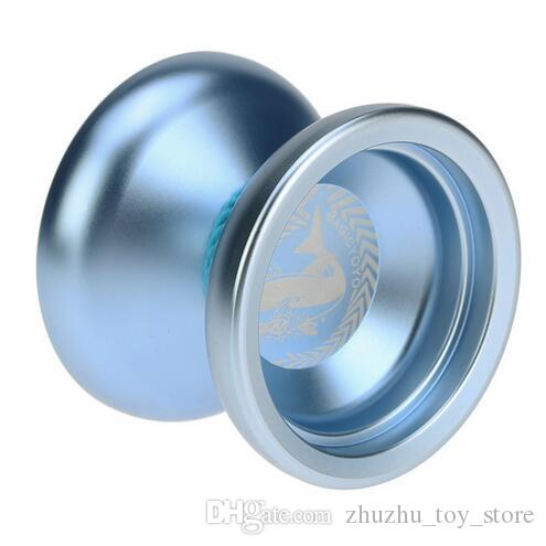 Kids Toy Yoyo 2 Colors Professional Magic Yoyo N12 Aluminum Alloy Metal Yoyo 8 Ball KK Bearing with Spinning String for Children