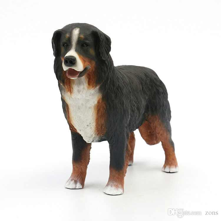 2019 Bernese Mountain Dog Figurine Large Standing Puppy 74 Inches Hot Sale Puppy Figurine Top Collection Birthday Gift For Friends From Zons 3006