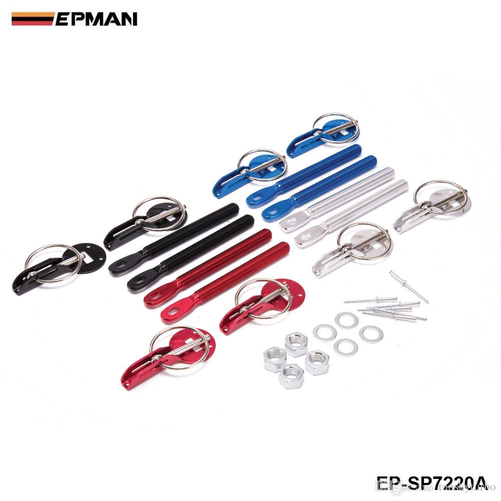 Epman Security Security Wooding Hood Pins Kit da latch per Cappuccio in fibra di carbonio / Trunk C (adatto: Universale) EP-SP7220A