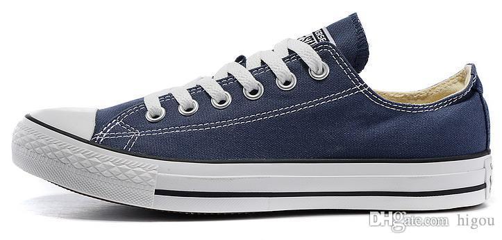 Großhandel Neue Converse Chuck All Star Schuhe Low Cut Männer Frauen Casual Canvas Classic Schwarz Weiß Rot Marke Converses Running Sneakers Von
