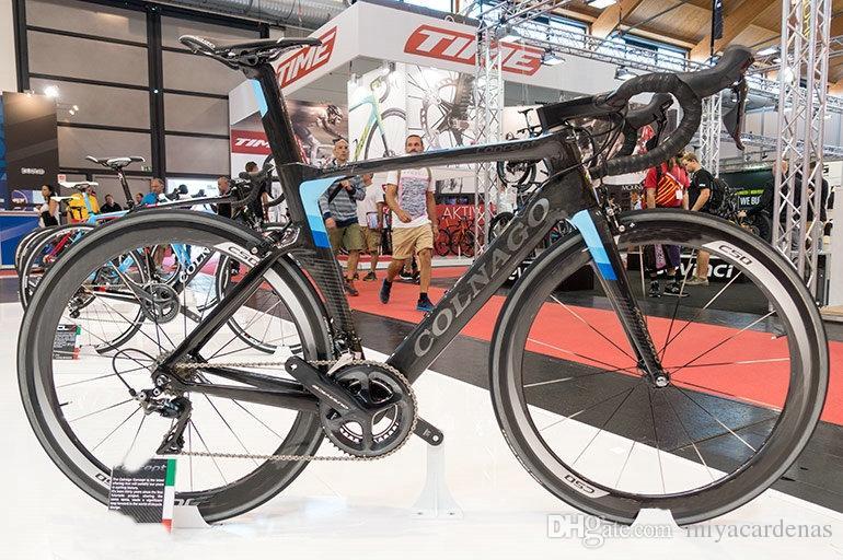 Colnago Concetto Full Carbon completa della bici della strada della bicicletta con R7000 / R8000 Groupset In vendita ruote carbonio da 50 mm