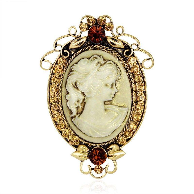 حجاب بروش خمر broches المجوهرات دبوس لطيف ودبابيس للنساء وشاح حجر الراين بروش على ذوي الياقات البيضاء