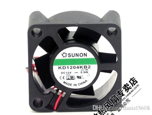 SUNON KD1204KB2 4020 12V 0.9W 4CM 40*40*20mm 2 line quiet durable cooling fan