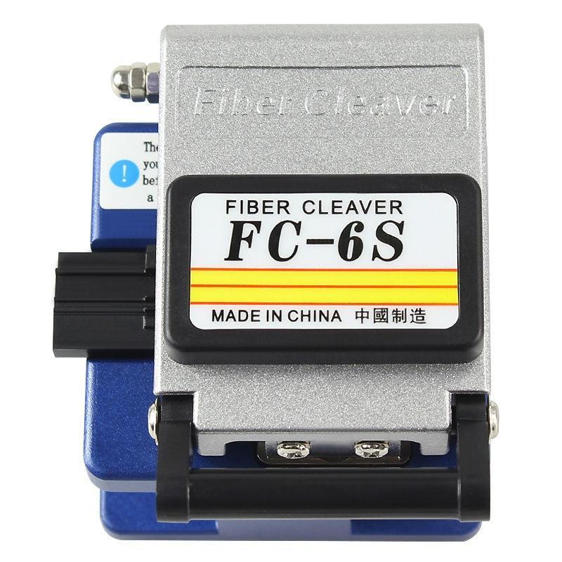 Fendoir de fibre optique du connecteur optique FC-6S de couperet de fibre de haute précision, utilisé dans l'expédition libre de FTTX FTTH, matériel en métal
