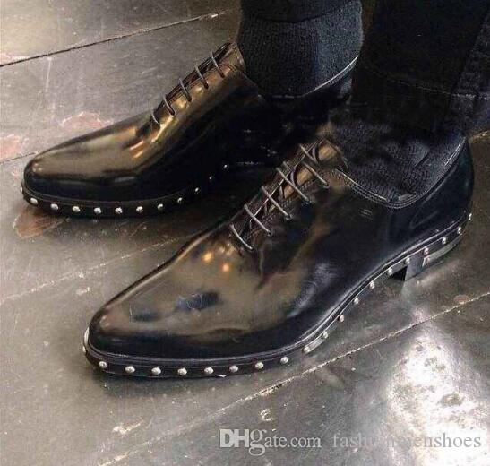 한국어 버전 독점적 인 맞춤식 수제 신발은 남성용 캐주얼 신발을 걷어차는 경향이있다.