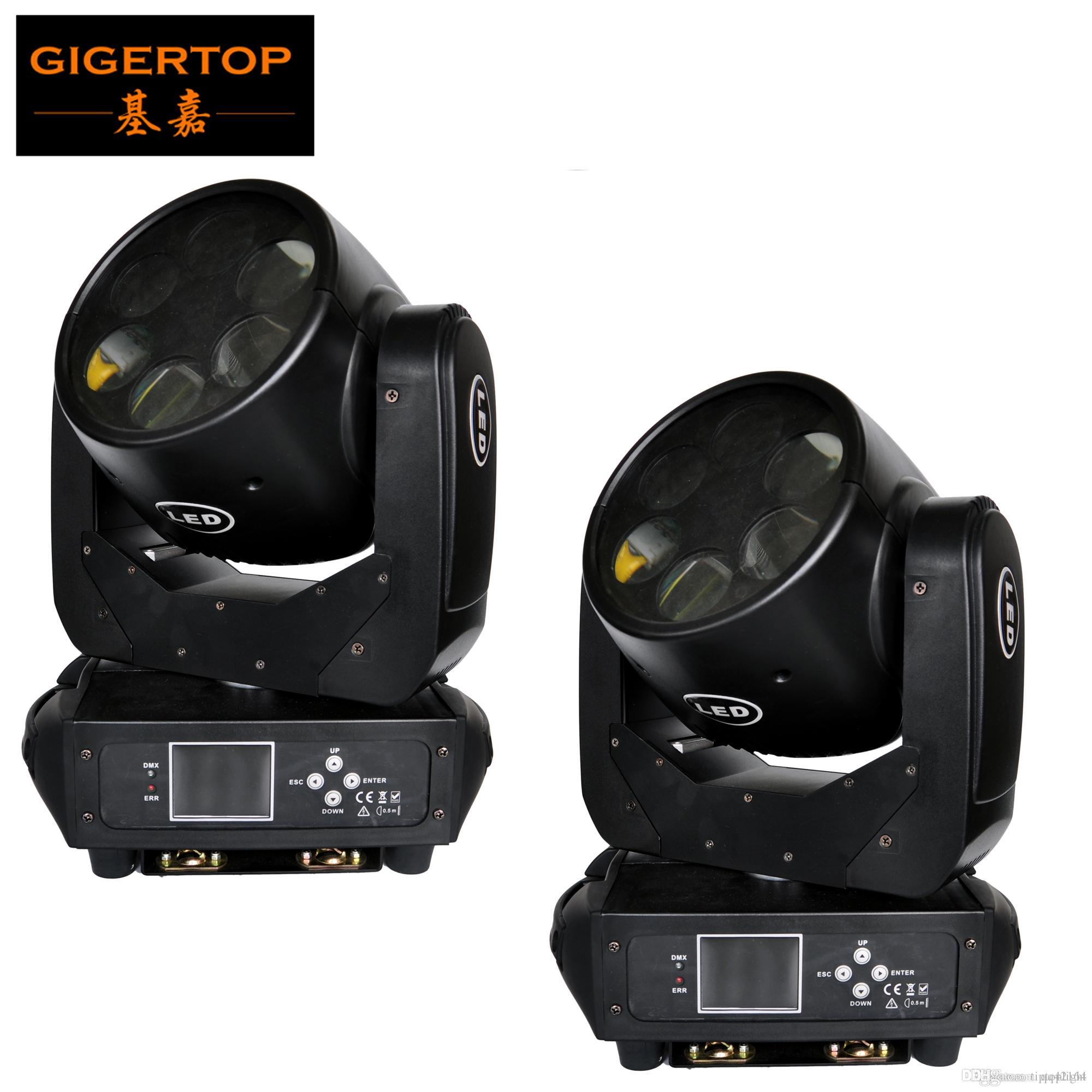 Freeshipping 2pcs/lot 180W LED RGBW Super Beam Moving Head Stage Light 12/20 Channels DJ Disco Bar Club Stage Light Party Show Effect