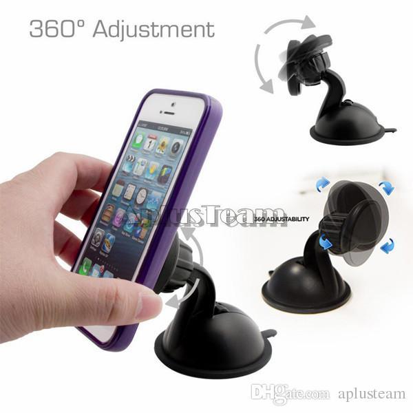 Neue Magnet Windschutzscheibe Saugnapf Halterung Ständer Halter Magnetische Armaturenbrett Auto Halterung für iphone 7 Samsung HTC LG Smartphone