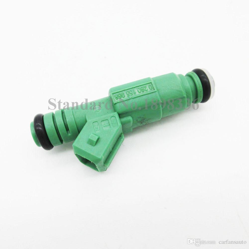 For Audi A4 BMW Ford Focus Flow Matched Fuel Injector 42lb/hr 440cc 0280155968 Car & Truck Air Intake & Fuel Delivery Parts