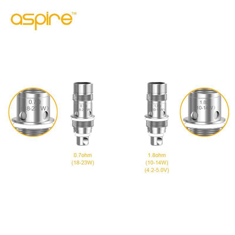 Aspire Nautilus BVC Bobine .7ohm / 1.6ohm / 1.8ohm per Aspire Nautilus 2 / Nautilus / Mini Tank Nautilus 2S Coil 100% originale