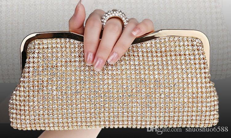 Heiße Art des Verkaufs neue Brauthand sackt gesetzte Schneckenwellenkupplungsbeutelverfassungsbeutelhochzeitsabend-Parteibeutel shuoshuo6588 ein