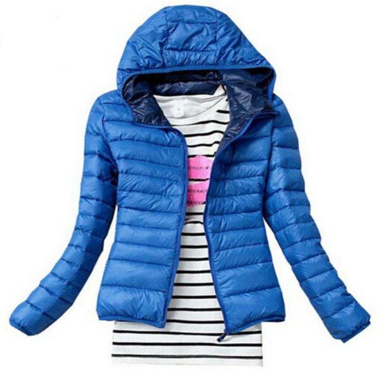 أزياء ستر الشتاء الإناث أسفل سترة النساء الملابس معطف اللون معطف