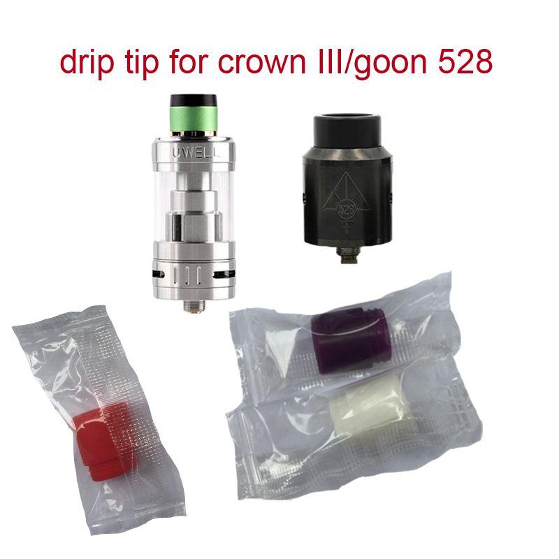 810 Drip Tips Silicone Bocal teste descartável ponta de silicone pinga-pinga Dicas Fit Big Baby RDA Atomizador DHL livre