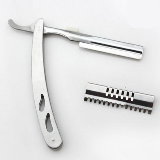 All'ingrosso professionale 2 in 1 forbici per capelli 440c rasoio rasoio diradamento cesoie taglio barbiere parrucchiere forbici spedizione gratuita