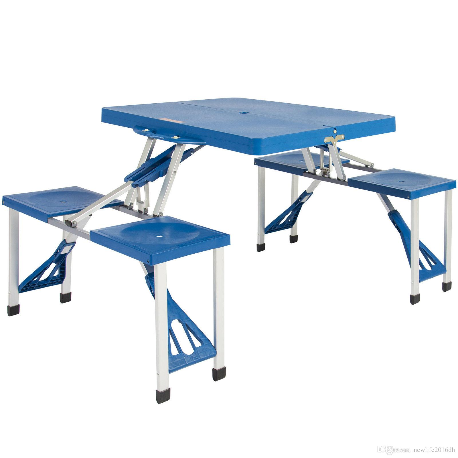 - 2020 Kids Outdoor Portable Plastic Folding Picnic Table Camping