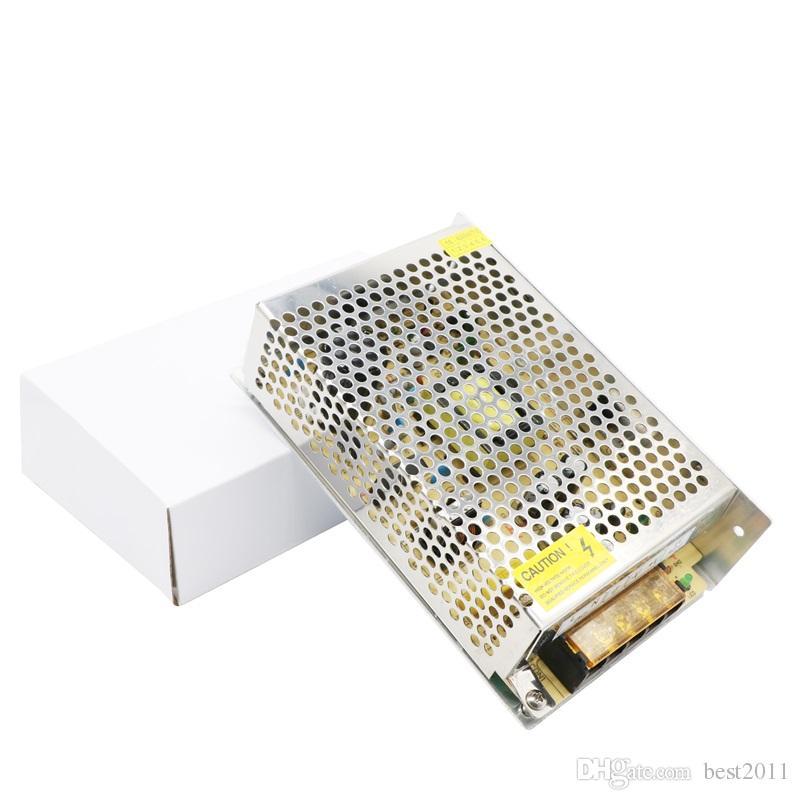 5A 60W Transformadores de iluminación 100V -240V AC a DC 12V Interruptor Adaptador de fuente de alimentación Convertidor para RGB LED Tira de luz Controlador
