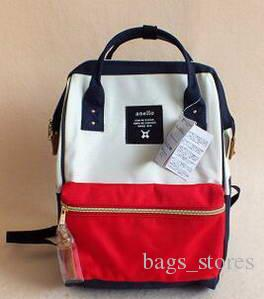New Japan Backpack Stripe Handle Anello Backpack 2017 Unisex Travel Laptop Campus Rucksack School Bag Mommy Backpacks Waterproof Bags Cheap