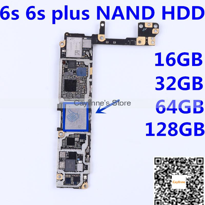 For Iphone 6s Plus Nand Flash Memory Ic Hardisk 16gb 32gb 64gb 128gb Hdd Chip Icloud Unlock Programmed With Serial Number With Balls Parts Repair Phone Quality Cell Phone Repair From Cayllnne