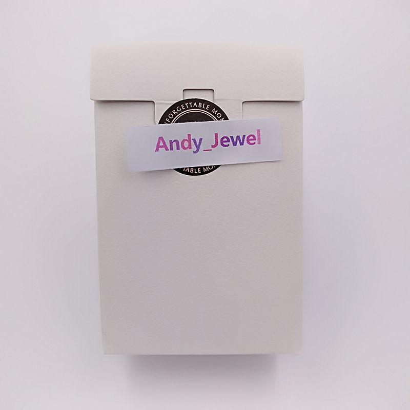 Atacado Requintado de Alta Qualidade Mini Papel Branco Caixas de Presente Caixa de 9 * 6 * 3 cm Para Pandora Jóias Estilo Encantos Contas Anéis Sacos de Embalagem