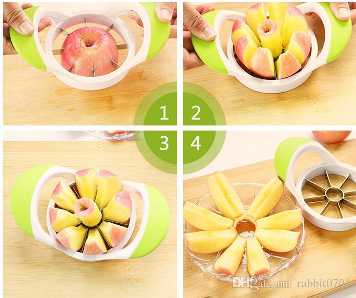 accessori da cucina utensili da cucina utensili da frutta frutta tagliata per mele gadget affettatrice taglierina articoli per la casa di buona qualità
