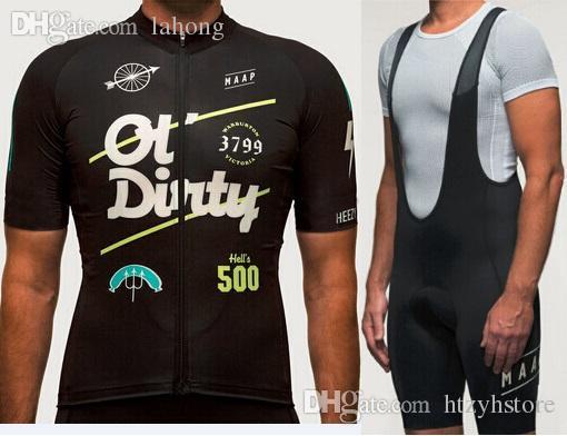2019 Foto colore MAAP ciclismo jersey uomo squadra bicicletta abbigliamento bici ropa ciclismo maglia bicicleta breve bavaglino / taglie può essere