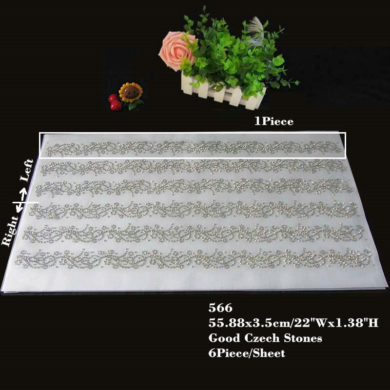 30pcs/lot Hotfix Rhinestone Iron On Heat Transfers Sticker Lace Motif Applique For Sleeves