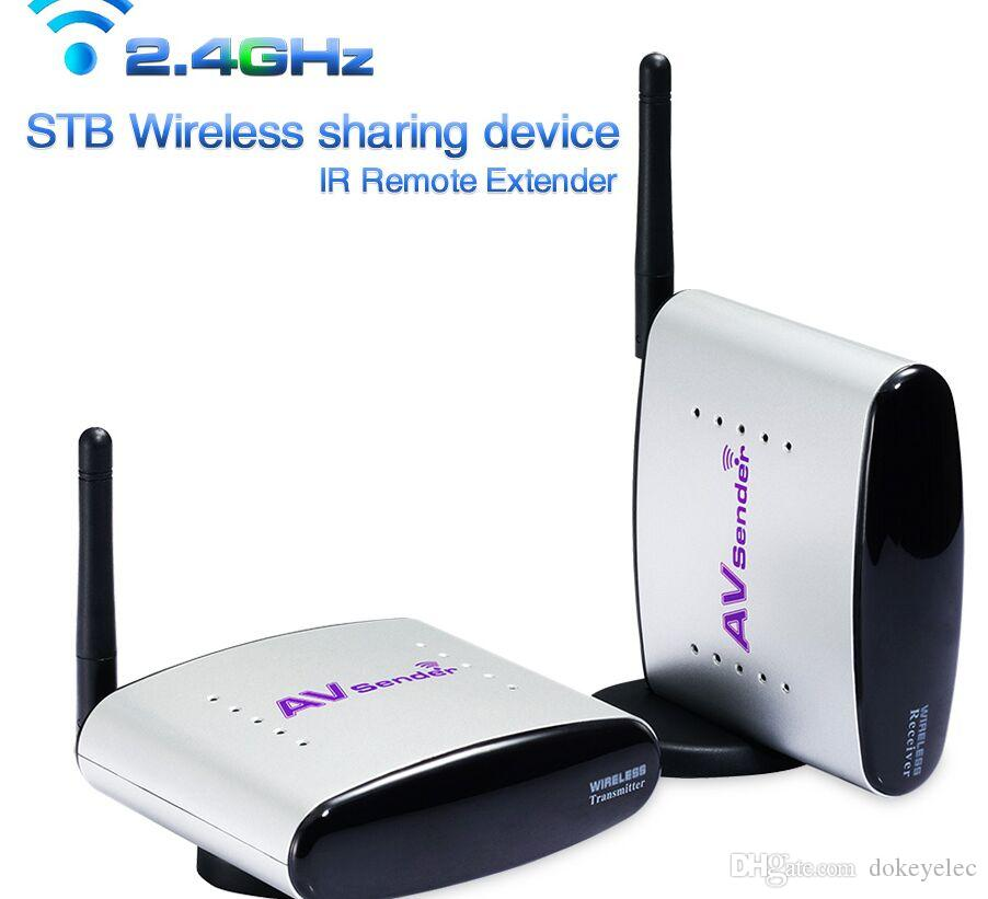 PAT220 150m 2.4GHz STB Remote Room to Room Wireless TV to TV Transceiver Analog Digital wireless Video transmitter Sender Receive IR Remote