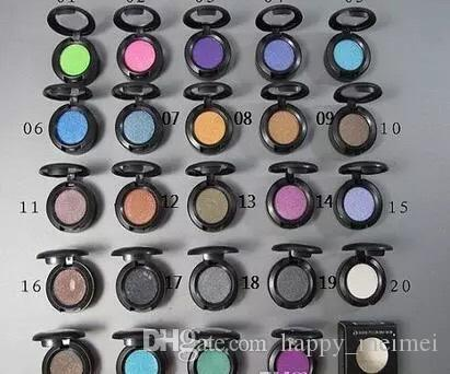 M Brand Makeup Single Color Eyeshadow Palette 24 Colors Eye Shadow Pigments 1.5g High Quality Free Shipping