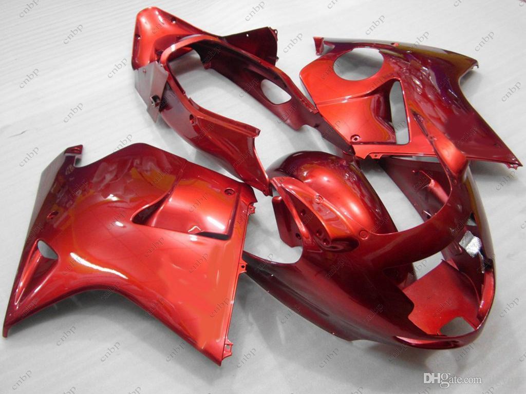 Carenados de plástico CBR1100 XX 2002 Carrocería CBR1100XX 2004 Carenado de ABS rojo BLACKBIRD 2003 1996 - 2005