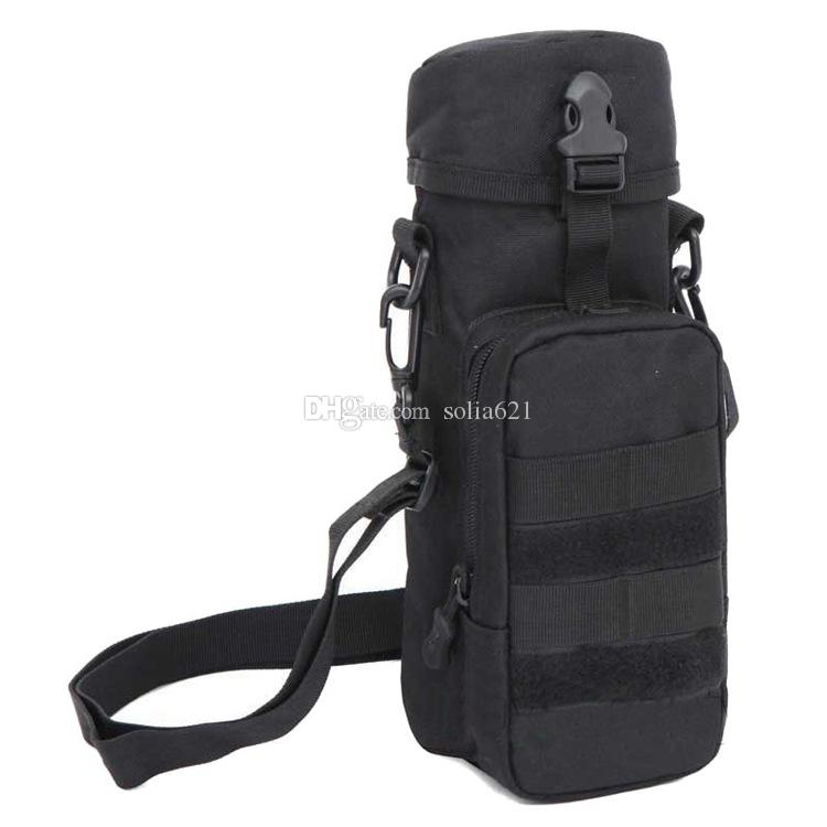 Water Bottle Sleeve Bag Bottle Holder Tactical Water Bottle Pouch Clip Bag