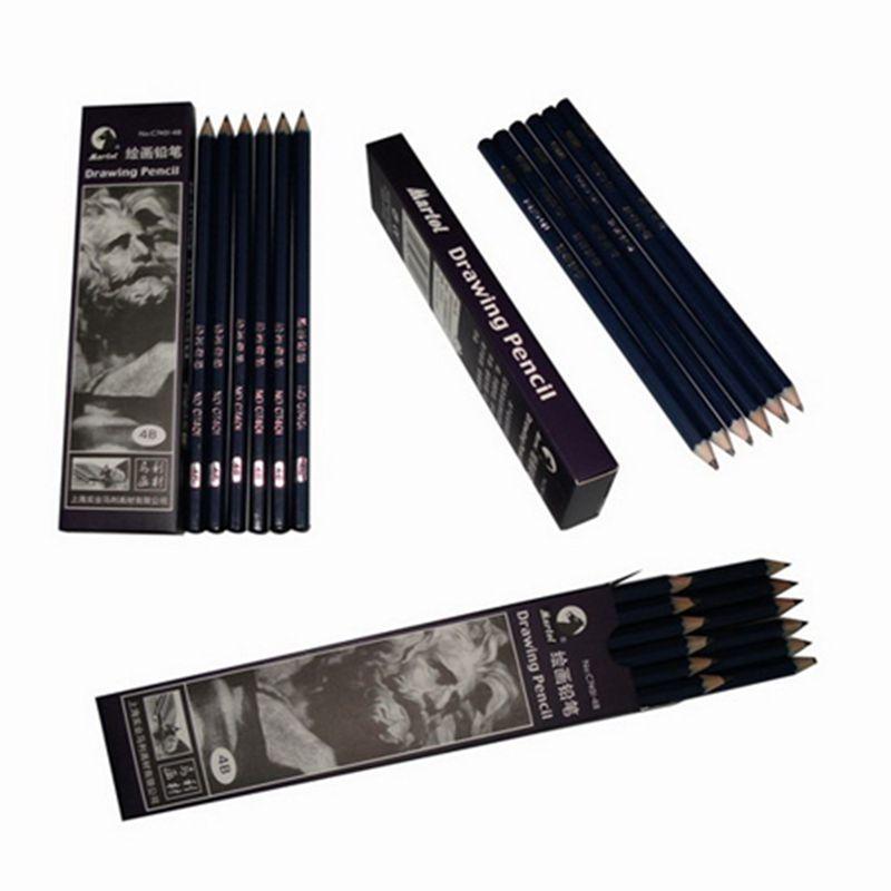 Toptan-12pcs / kutu Dövme Dövme Transferi Kağıt Kaynağı Daimi Aksesuarlar için Kalem Dövme Çizim Pencil aktar