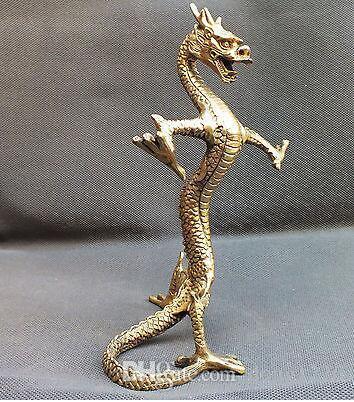 Ouvert pur cuivre rose dragon pendule dragon absorption de l'eau richesse des gens mauvais, je