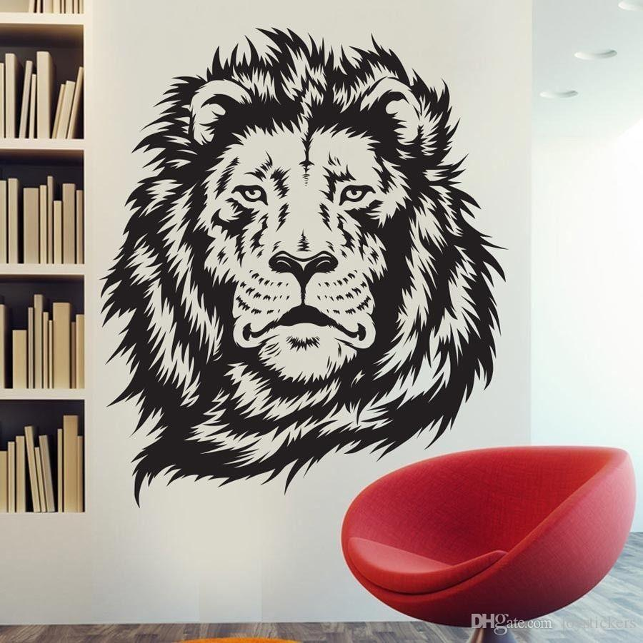 Wall Stickers For Kids Room Zoo African Animal Jungle Lion King Wall Decal Art Decor Sticker Vinyl Wall Stickers Home Decor