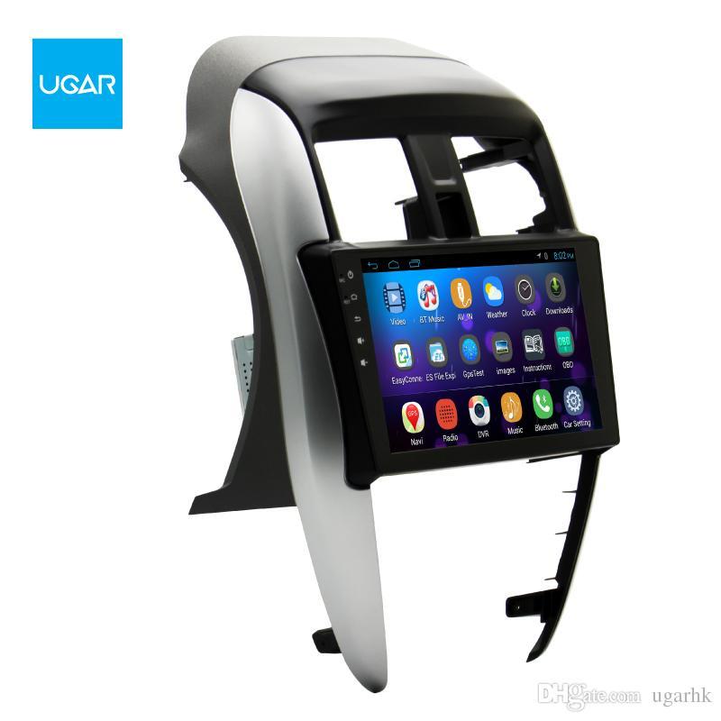 "9 ""Quad Core 1024 * 600 navegación GPS para Android para Nissan Sunny 2014-2015 Reproductor multimedia Radio Wifi"