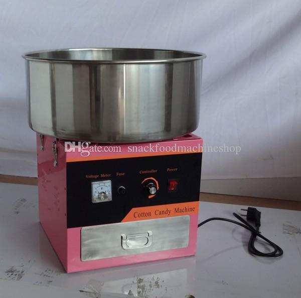 Soie de barbe à papa de vente chaude de prix usine de nourriture de coton de machine à vendre / machine de barbe à papa de l'électricité