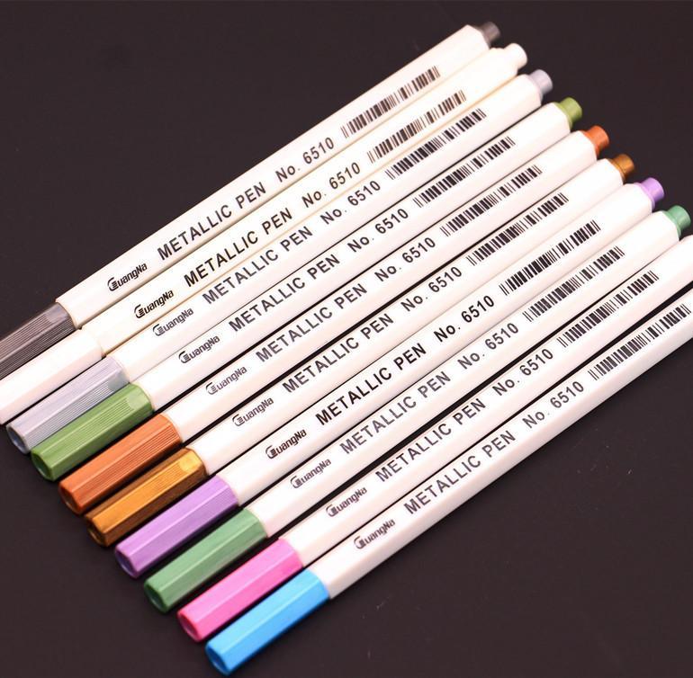 Álbum de fotos foto grafite caneta foto multicolor metal caneta cor nota tinta caneta