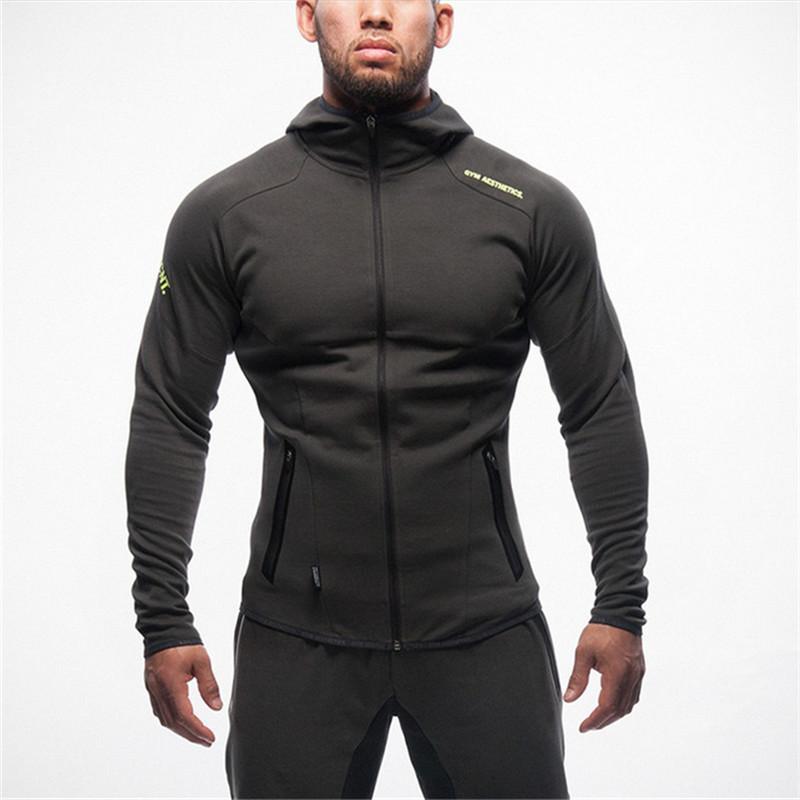 Vente en gros- Body Hoodies Hoodies Marque-vêtements Workout Chemises Costumes à capuche Survêtement Hommes Chandal Hombre Gorilla wear Animal