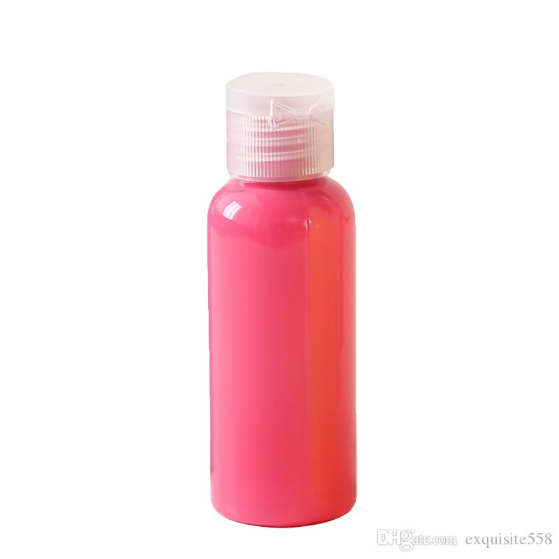 20pcs plastic bottle,50ml colorful bottle China supplier taobao product,good quality packing bottles