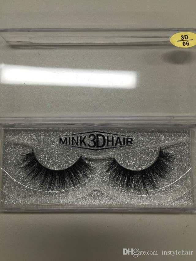 5pairs Mink Fake Eyelash Natural Long Thick False Eyelashes Hand Made High Quality Mink Lashes Eye Makeup Brushes Eyelash