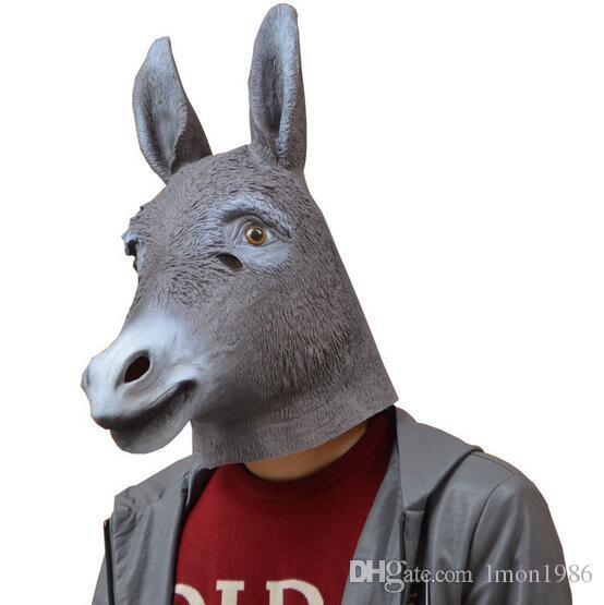 Adult Dunky Animal Halloween Mask