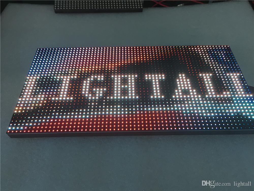 야외 320 * 160mm 32 * 16pixels 3in1 SMD 1/4 스캔 RGB P10 풀 컬러 LED 모듈 광고 미디어 LED 디스플레이