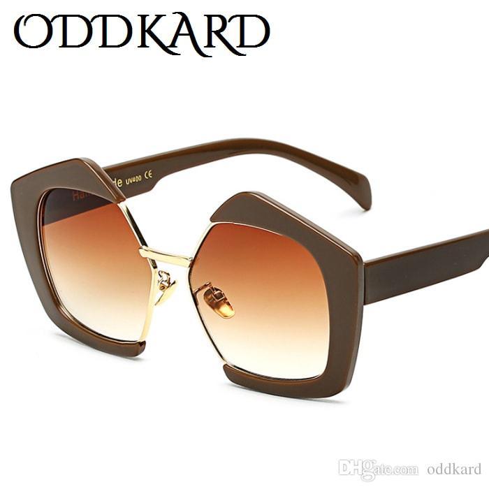 Oddkard الموضة الحديثة الفاخرة الساخنة للرجال والنساء أنيق ماركة مصمم شبه بدون شفة فراشة النظارات oculos دي سول uv400