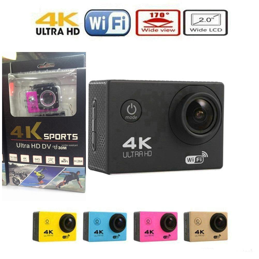 4K Sports Camera 1080p Wifi Camera Waterproof Camcorder HD Cam Underwater Cameras Video Camera Full HD Action Cam JBD-M7