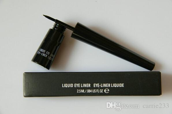 NOUVEAU EYLINER LIQUIFILE Doublure de maquillage de haute qualité Noir 2.5ml (12 pcs / lot)
