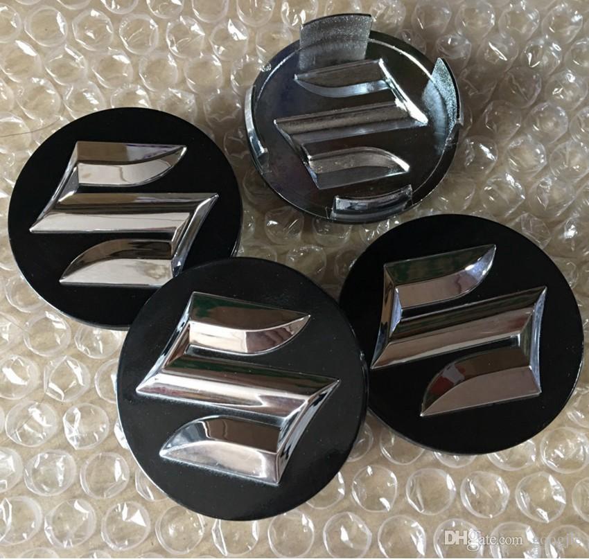 Suzuki 20pcs / lot ABS 54mm 58mm 자동차 휠 센터 허브 캡 커버 덮개 배지 산다운드 Samurai Jimny SX4 그랜드 Vitara Swift