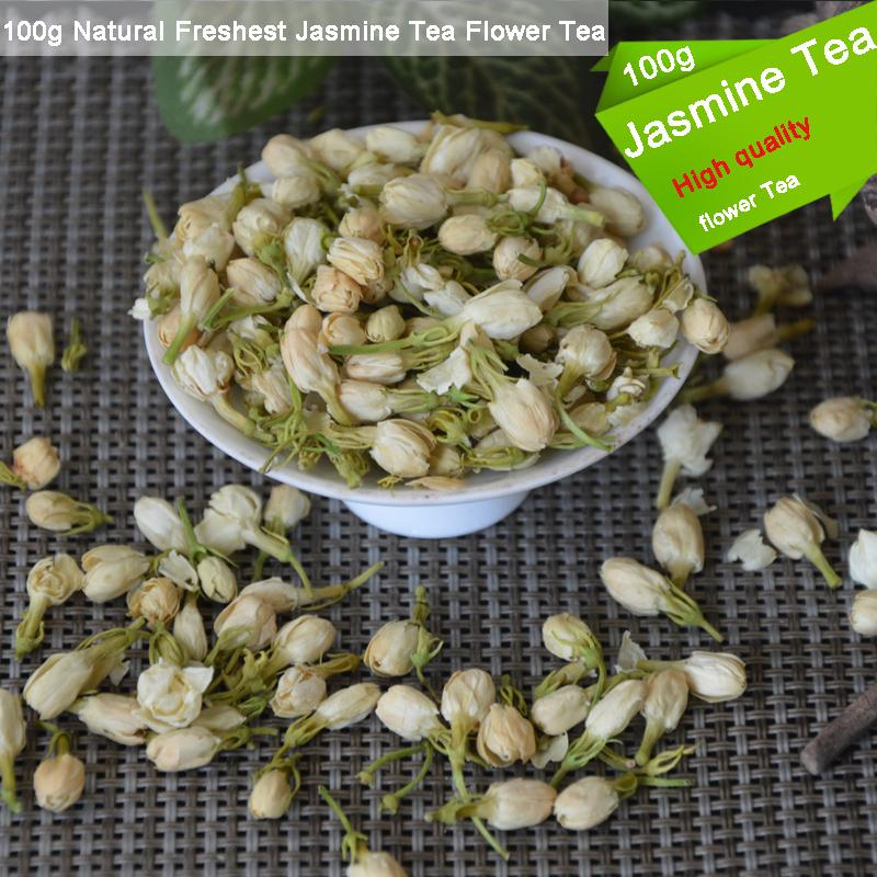Heiße verkaufende Blumen-Tee-Qualitäts 100g Natur Freshest Jasmin Bio-Tee Health Care Natürliche Molii Blume