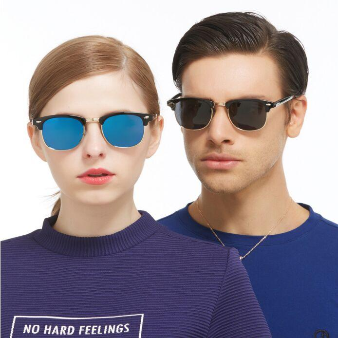 Polarized Sunglasses Unisex Lens fashion couples sun glasses 8 color UV400 Driving goggles With packaging Free DHL FedEx TNT