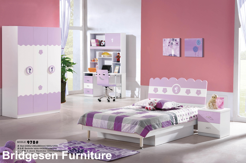 2019 MDF Teenage Princess Girl Kids Bedroom Furniture Set With 2 Door  Wardrobe Nightstand Bookcase Queen Bed Pink From Bridgesen, $437.19 |  DHgate.Com
