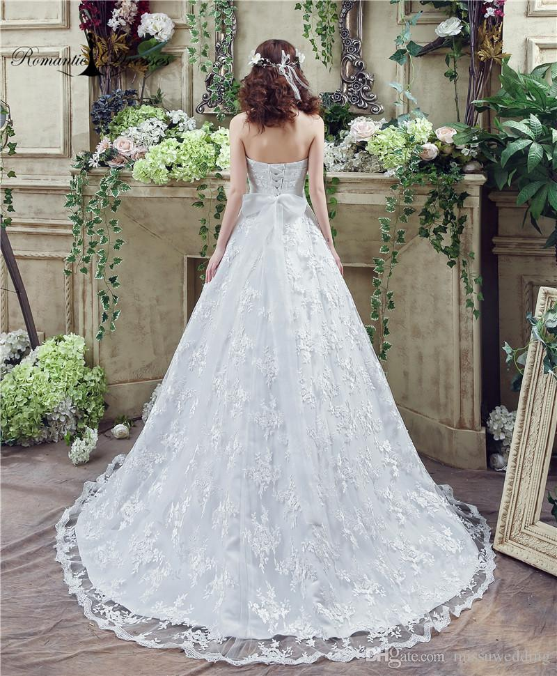 25551c0ec2e Lace Ball Gown Wedding Dresses Romantic Dresses Real Photos Crystal Belt  Lace UP Back China Cheap Wedding Bridal Gowns 35269