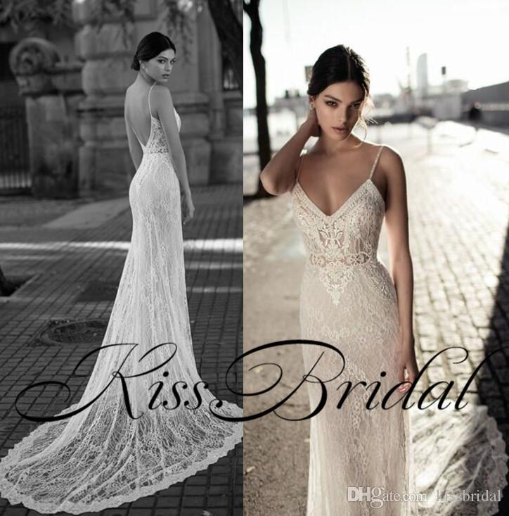 Fitted Column Wedding Dress